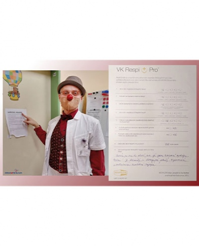 Respilon reference zdravotni klaun cerveny nos respilon dotaznik