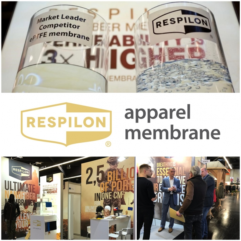 RESPILON® Introduced a Membrane for Functional Clothing