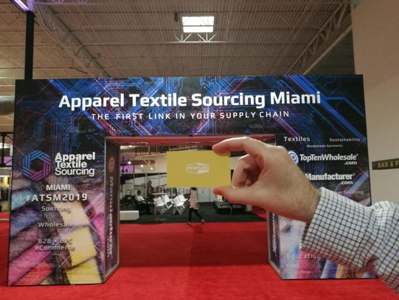 Potkej nás na Apparel Textile Sourcing Miami